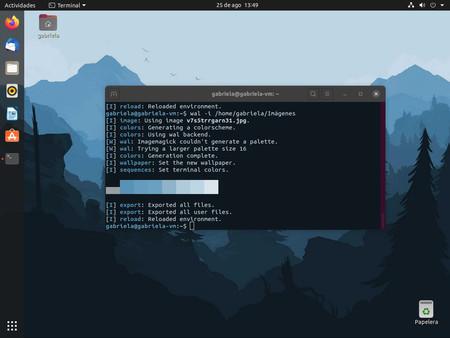 Cómo cambiar automáticamente los colores de la terminal en Linux según el fondo de pantalla
