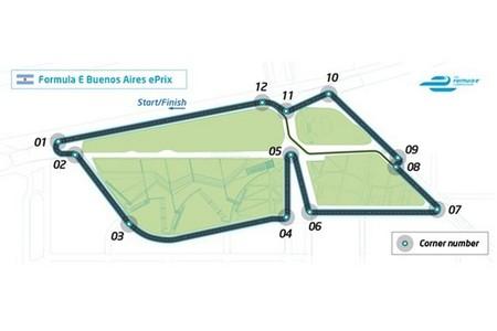 Ya se conoce por donde correrán los Fórmula E en Buenos Aires
