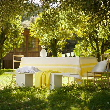 Zara Home lleva los colores flúor a casa con unos intensos tonos lima limón