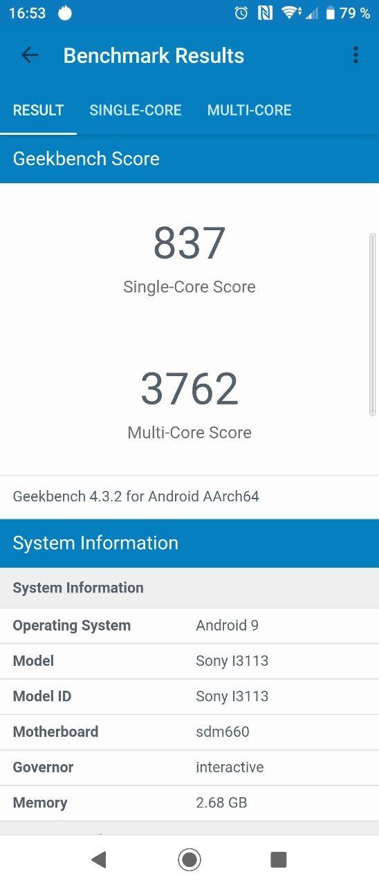 Foto de Benchmarks del Sony Xperia 10 (6/9)