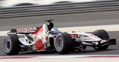 Button, Schumacher y Alonso