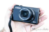 Canon PowerShot G7 X, toma de contacto
