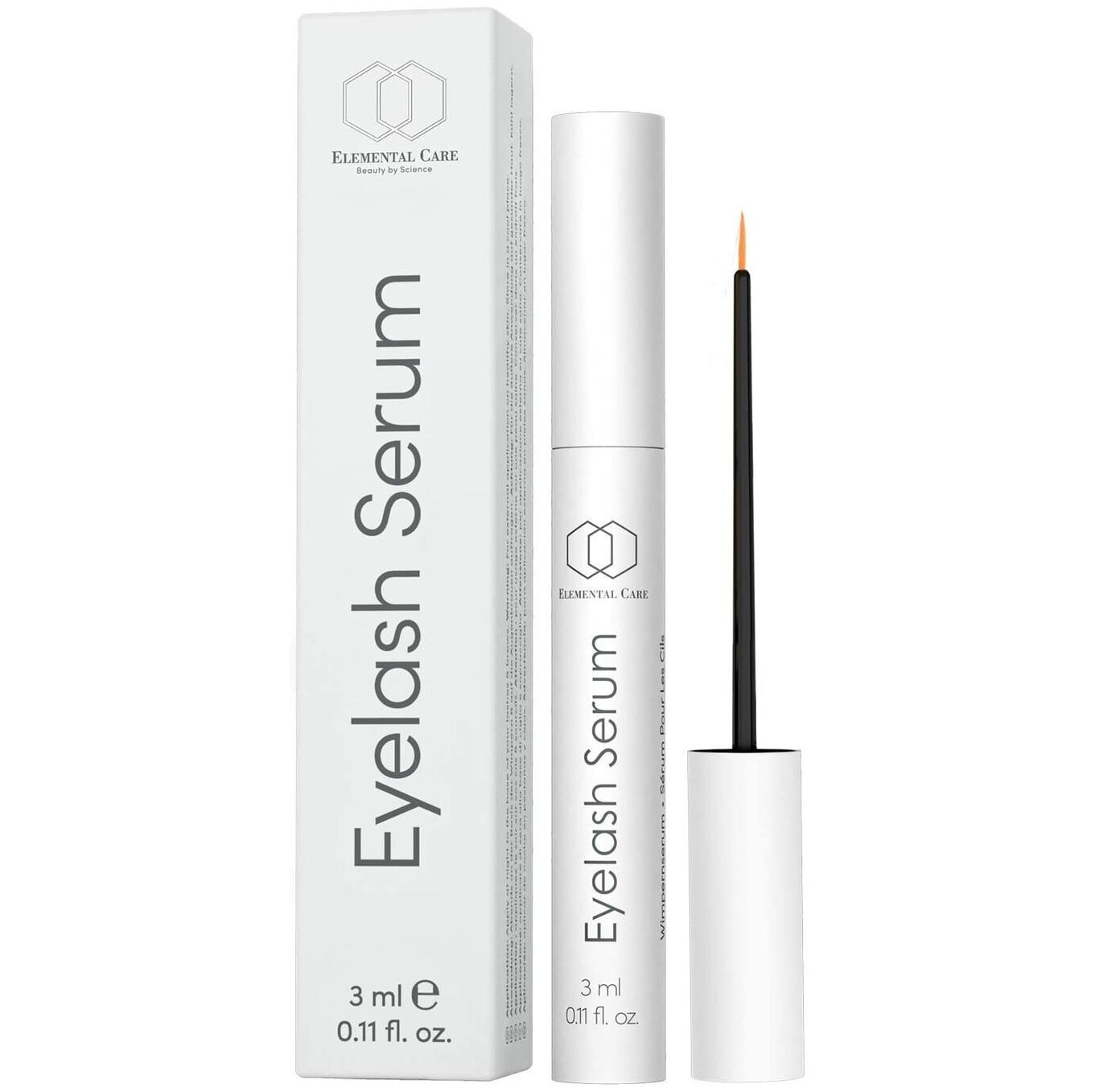 Serum Crece Pestañas 3ml – Serum Eyelashes y Cejas Efecto Pestañas Postizas con Acido Hialuronico
