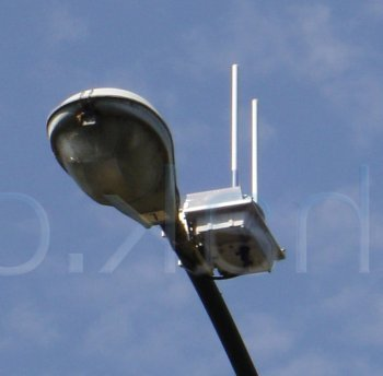 WiFi de Google, con puntos de acceso en farolas y semáforos