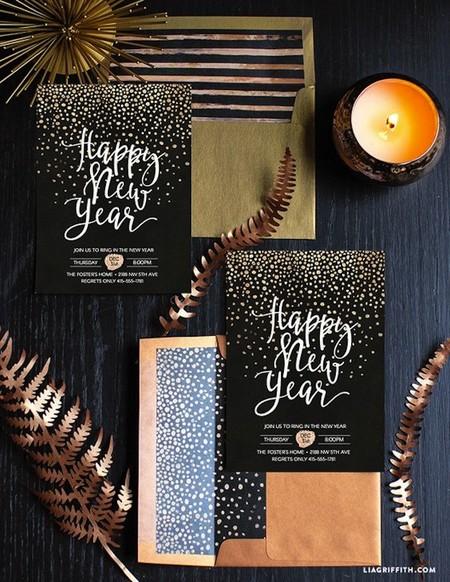 Ano Nuevo 15invitaciones