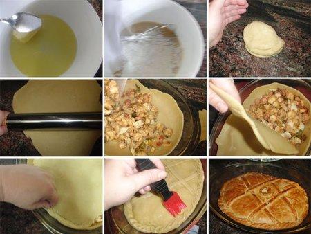 Empanada de pulpo. Receta