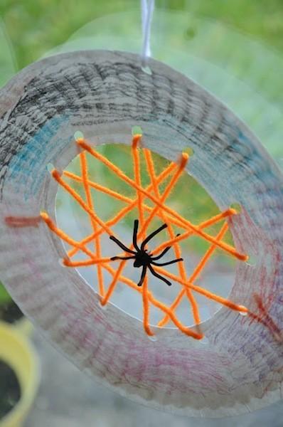 Decoración arañas Halloween 2