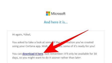 Descargar Info Cortana