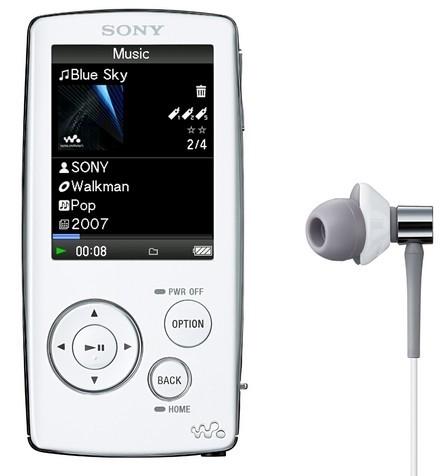 NW-A800, WALKMAN Video MP3 de Sony