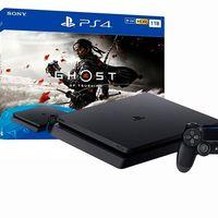 Ahorra algo de dinero estrenando el nuevo Ghost of Tsushima y una PS4 Slim de 1 TB con 2 DualShock 4 por 364,95 euros en eBay