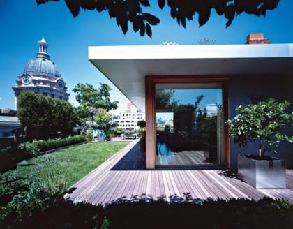 Casas poco convencionales: un oasis en Nueva York