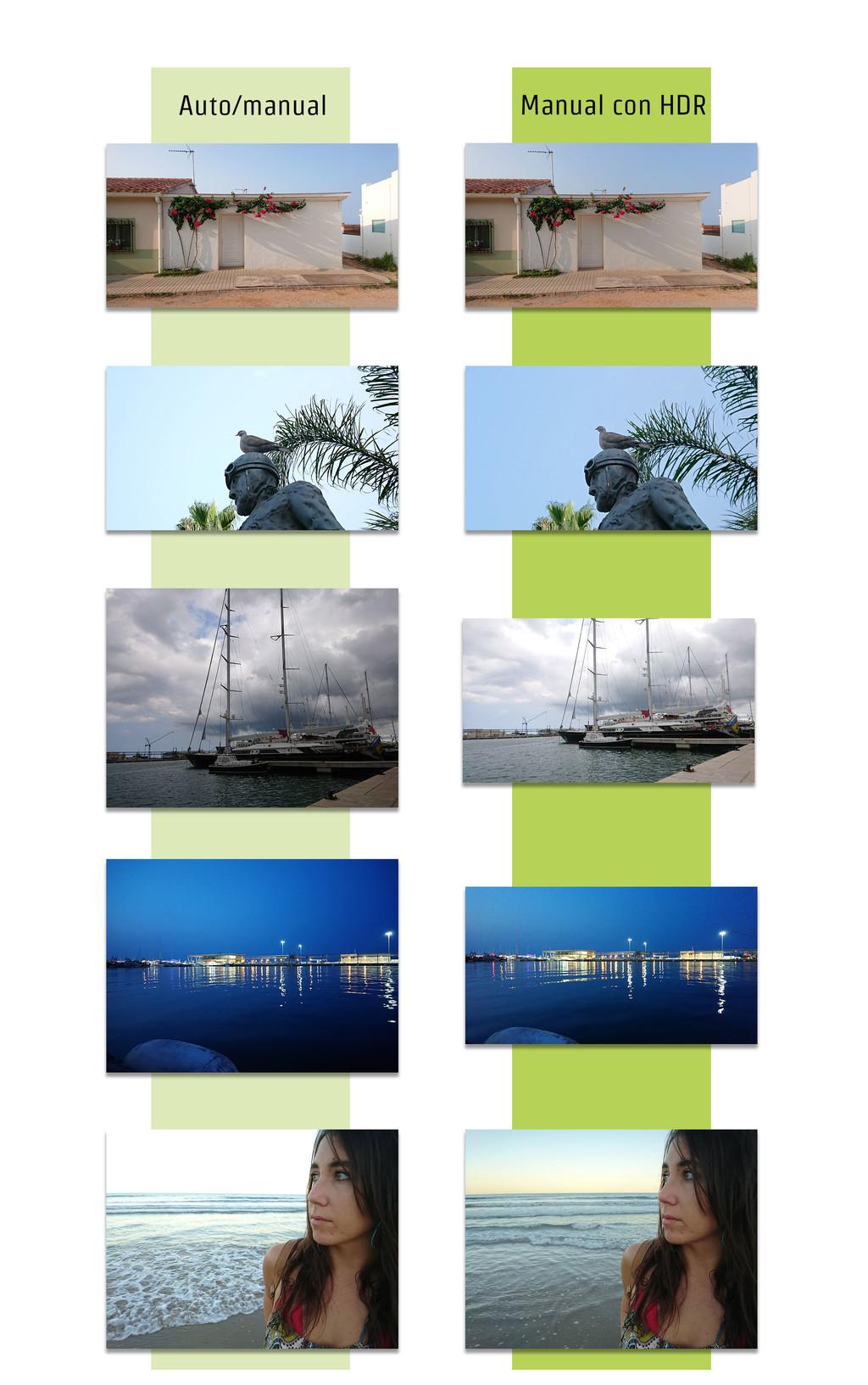 Sony Xperia Xz1 Comparacion HDR