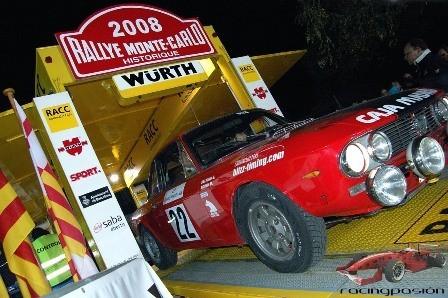 Salida del XI Rally Montecarlo Histórico desde Barcelona