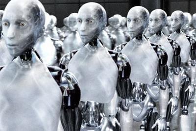 Robots que limpian, leen a los niños y piden pizza por Internet