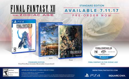 Así serán las ediciones de coleccionista de Final Fantasy XII: The Zodiac Age