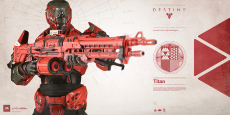 ¿Buscas figuras coleccionables de Destiny? Quizás este Titán te interese