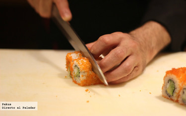 Aprender a preparar sushi con un cocinero profesional