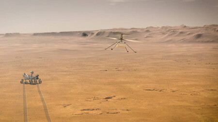 Nasa Perseverance Ingenuity Marte
