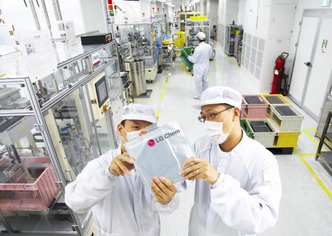 Lg Chem Fabrica Baterias