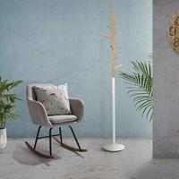En la semana del mueble de Amazon tenemos este perchero ideal para dar un toque nórdico a la entrada de casa