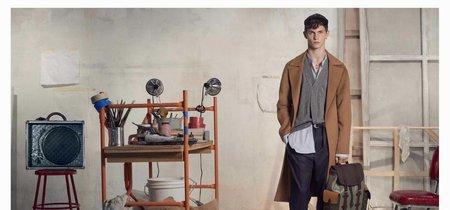 El taller de los artistas como escenario de la campaña de invierno de Louis Vuitton