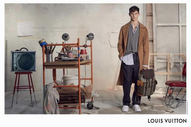 El Taller De Un Artista Como Escenario De La Campana De Invierno De Louis Vuitton 1