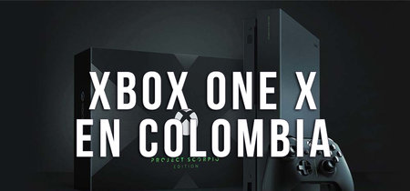 Xbox One X, este es su precio oficial en Colombia