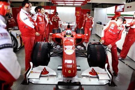 Fernando Alonso exhibe optimismo a raudales