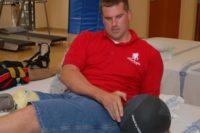 Guía de ejercicios abdominales (XXVIII): Rotaciones de tronco con balón medicional