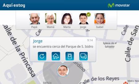 Movistar lanza 'Aquí estoy', un servicio de geolocalización de teléfonos móviles ajenos