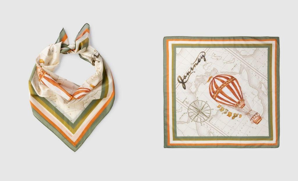 Pañuelo de mujer LLoyd's globo beige