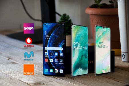 Dónde comprar los OPPO Find X2 Pro y X2 Lite más baratos: comparativa ofertas con Movistar, Vodafone, Orange y Yoigo
