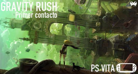 'Gravity Rush' para PS Vita: primer contacto