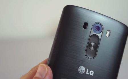 Acabado metálico del LG G3
