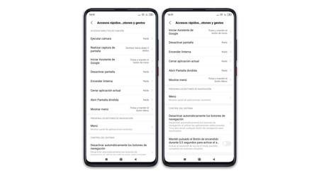 Xiaomi Mi 9t Pro Accesos Rapidos