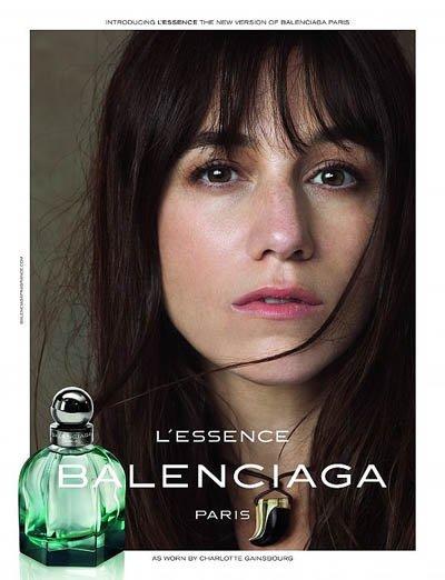 Charlotte Gainsbourg será la imagen de L'Essence, el nuevo perfume de Balenciaga