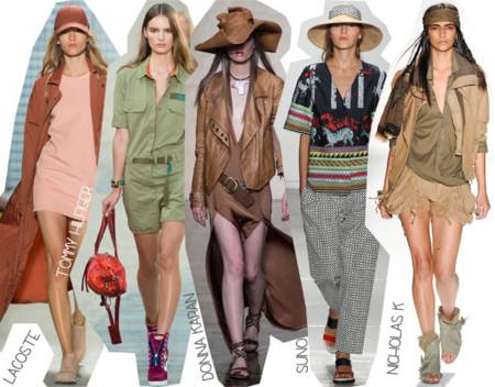 Semana de la Moda de Nueva York Primavera Verano 2014 Tendencias Safari