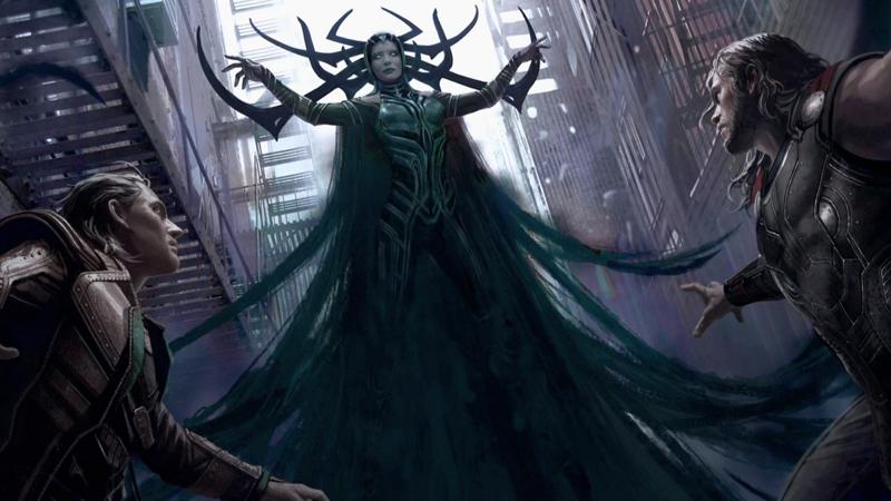 Thor 3 Ragnarok Imagen Arte Conceptual 1