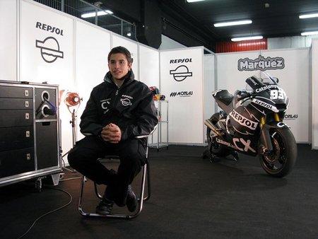 Marc Márquez nos presenta su nueva Moto2
