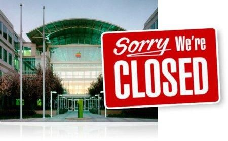 Apple, cerrado por vacaciones