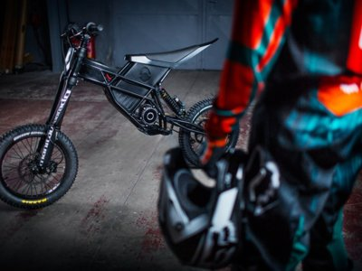 Kuberg ya tiene lista su Freeride, un híbrido entre bici y moto de cross