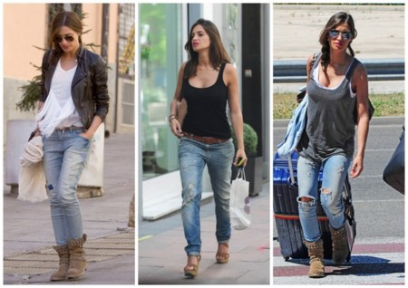 Sara Carbonero looks año 2013 jeans