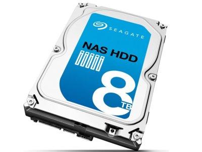 Adiós problemas de espacio, Seagate presenta disco duro de 8TB para mortales