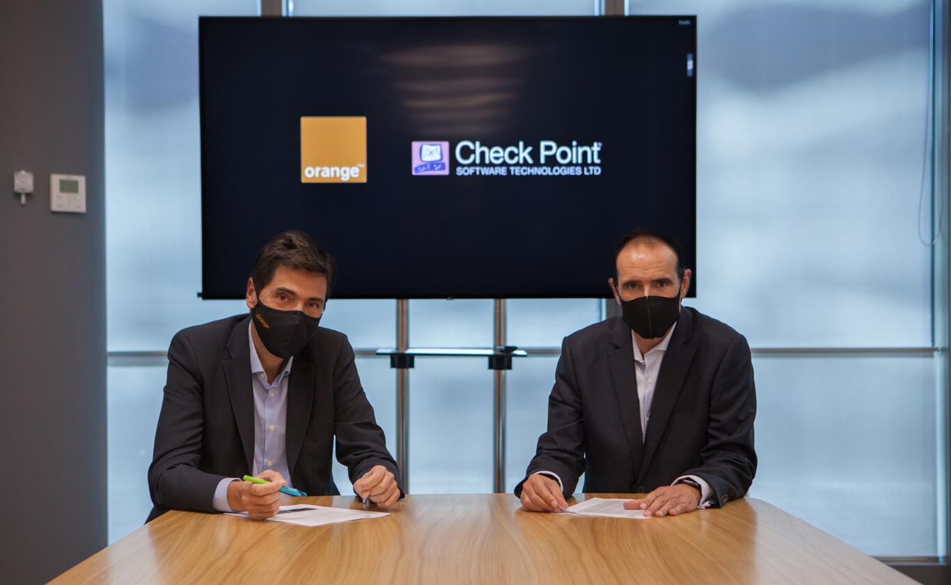 Orange ofertará servicios de seguridad de Check Point a sus clientes de grandes empresas que teletrabajen