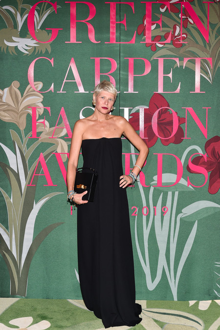 Elisa Nalin green carpet fashion awards 2019
