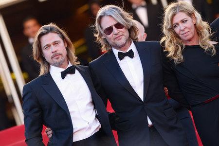 Brad Pitt en Cannes 2012