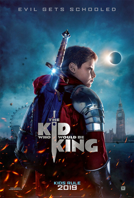 Cartel de The Kid who would be king