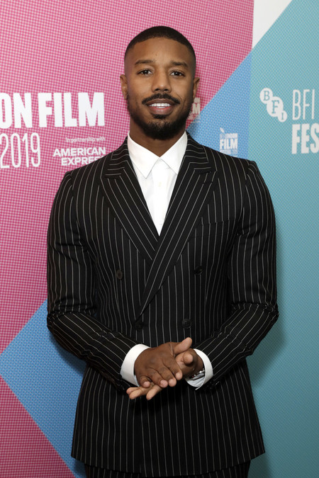 Michael B Jordan Red Carpet Bfi London Film Festival At The Odeon Luxe Leicester Square 2