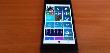 Lumia 735 Pantalla