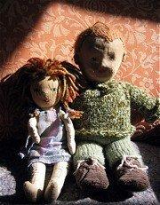 Los maravillosos muñecos de trapo